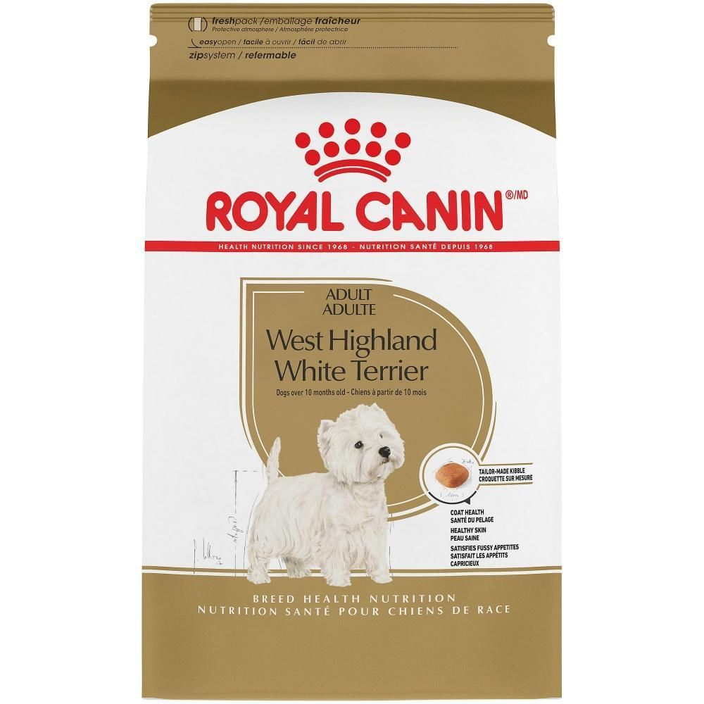 Royal Canin Breed Health Nutrition West Highland White Terrier Dry Dog Food West Highland White White Terrier Dog Food Recipes