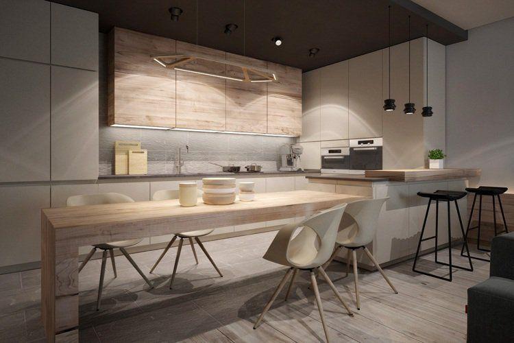 Idées d\u0027 aménagement d\u0027intérieur en bois -mobilier et accessoires