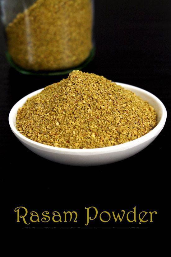 Rasam powder recipe   How to make rasam powder (podi)