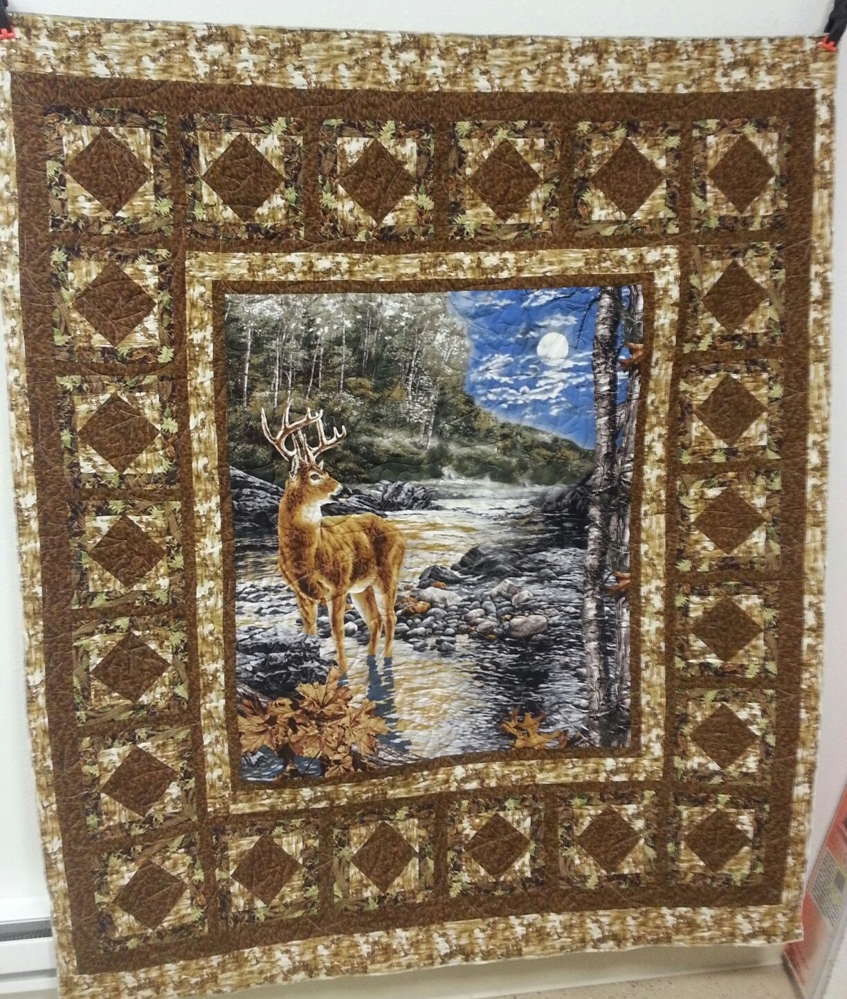 Pin By Penny Powers On Panel Quilts Wildlife Quilts