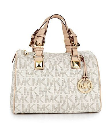 3e57a5029795 MICHAEL Michael Kors Medium Grayson Satchel  Same name as our baby boy  tells me it s meant to be  -)