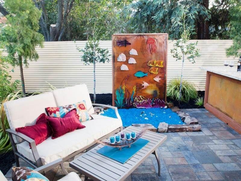 Brunnen Und Wasserspiele Im Garten Selber Bauen   70 Bilder