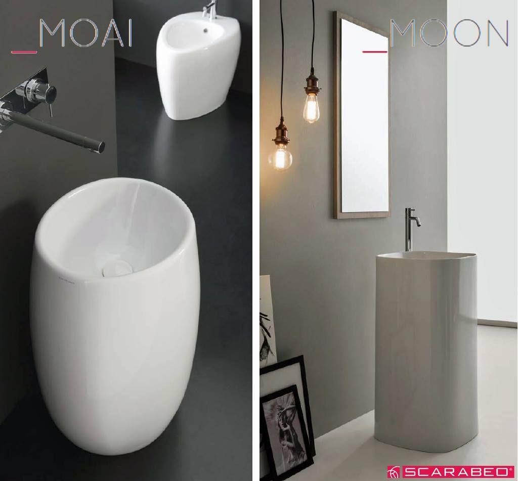 Forme morbide e design contemporaneo per l\'arredo #bagno funzionale ...