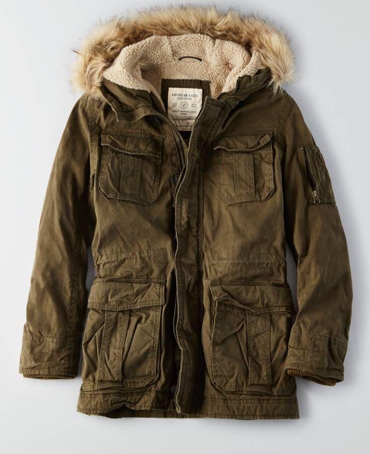 378c802d7ef AEO Cotton Parka. AEO Cotton Parka Men s Coats ...