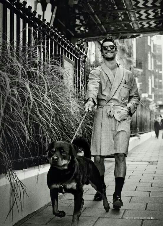 Mr. Gandy's pet walk...