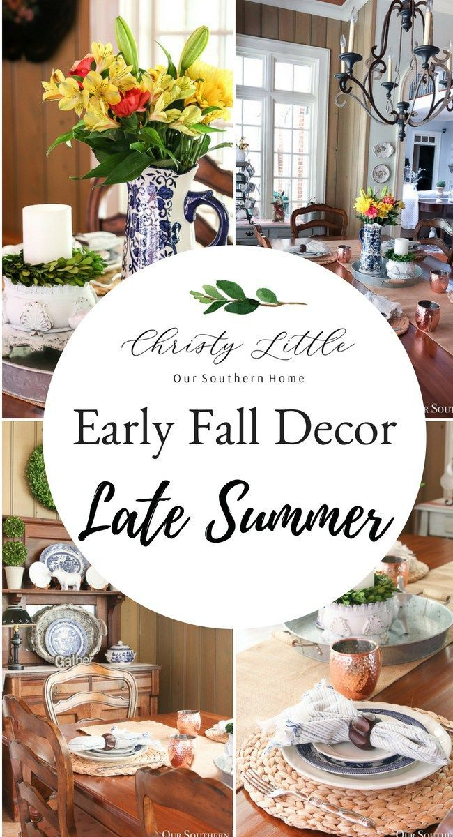 Late Summer Breakfast Room images