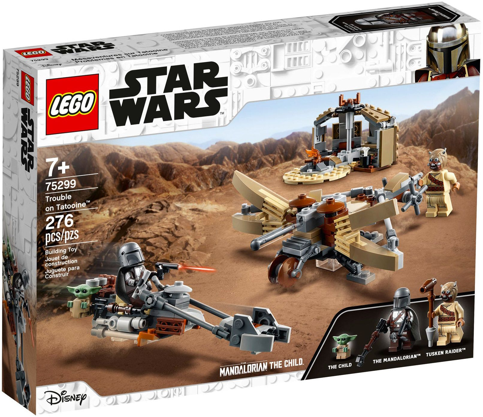 Lego Star Wars 75299 Pas Cher Conflit A Tatooine Lego Star Wars Sets Lego War Lego Star Wars