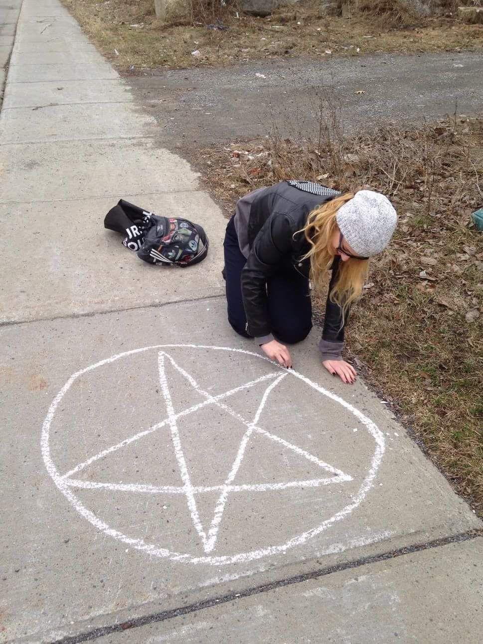 a piece of chalk