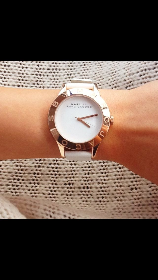 Marc Jacob watch. White. Must have basic.