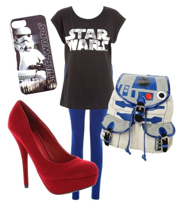 """""""The force is strong with this outfit"""" by lydiaviolet ❤ liked on Polyvore featuring R2 and Delicious"""