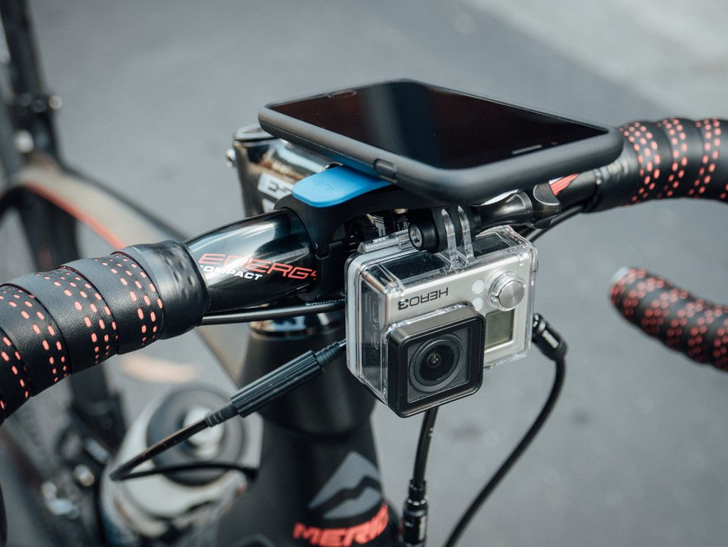 Out Front Mount Camera Light Adaptor Gopro Cam Lights Quad