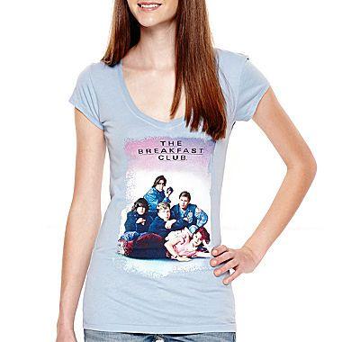 jcp | Short-Sleeve Breakfast Club Graphic T-Shirt