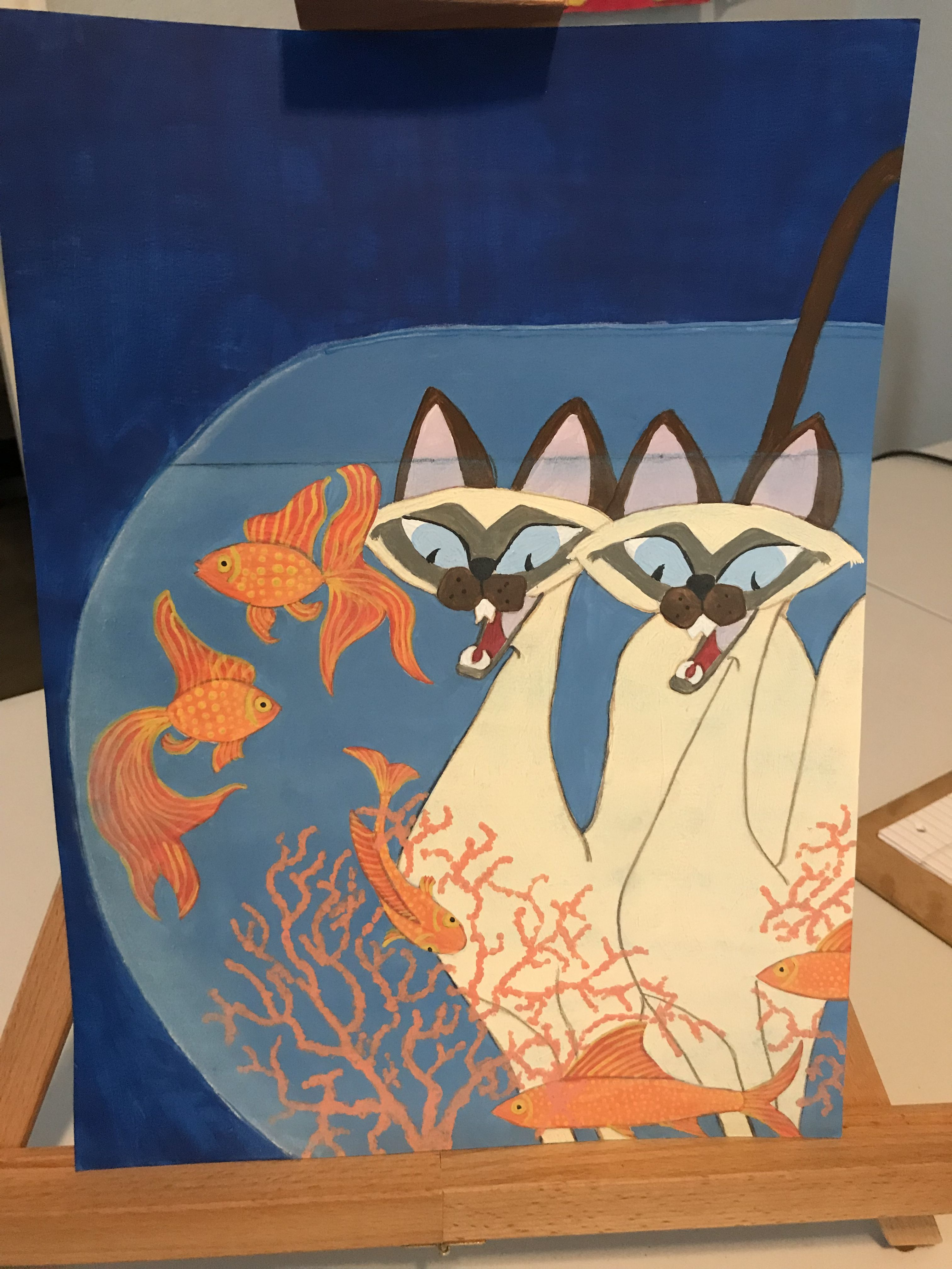 A Mashup Of Disney S Siamese Cats From Lady And The Tramp And