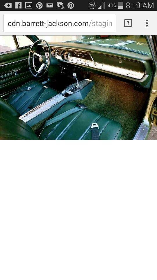 68 barracudas interior