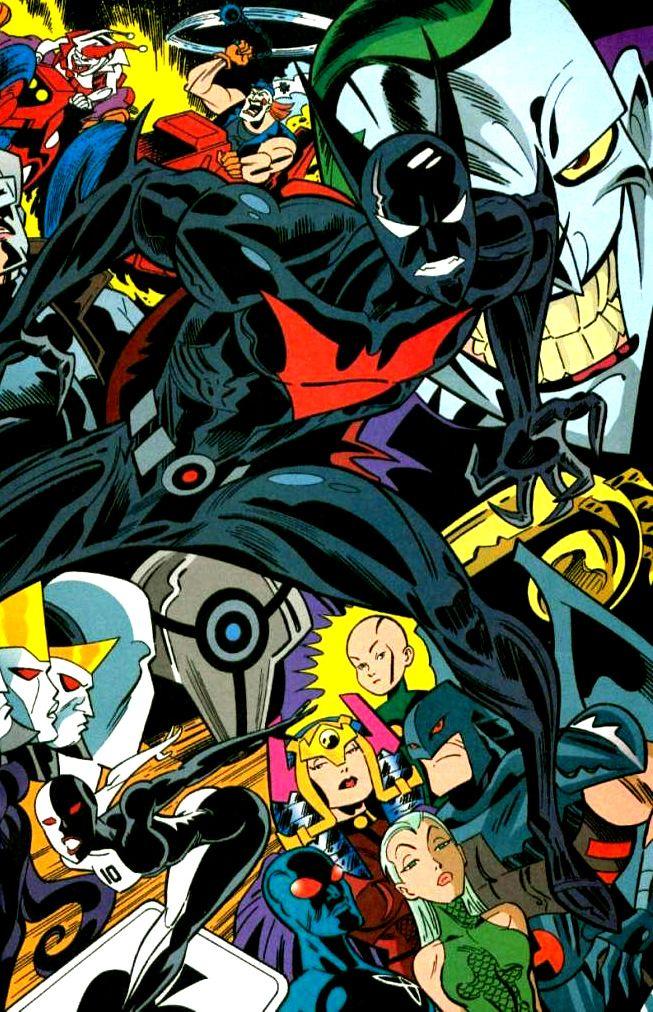 Pin By Daniel Maldonado On Comics Dc 0 Superhero Art Batman Beyond Batman Beyond Terry