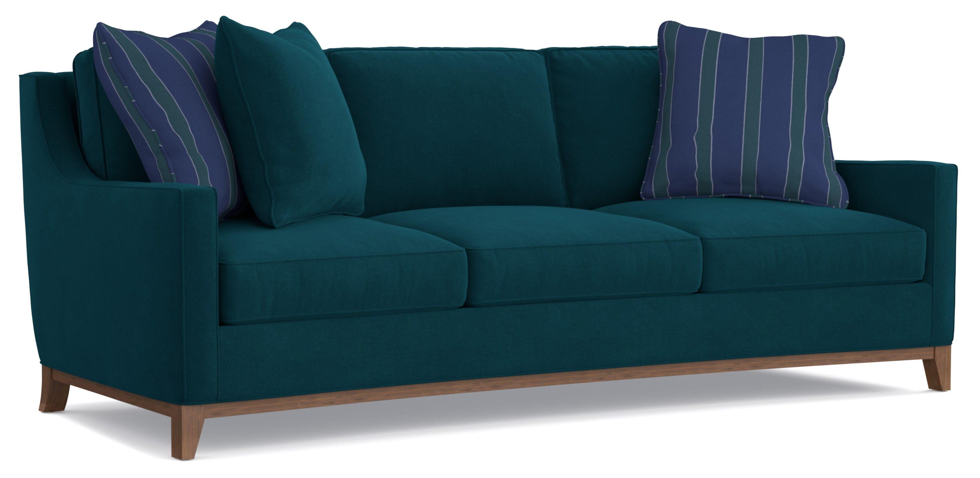 Cynthia Rowley For Furniture Hamptons 3 Over Sofa 7072 002cr