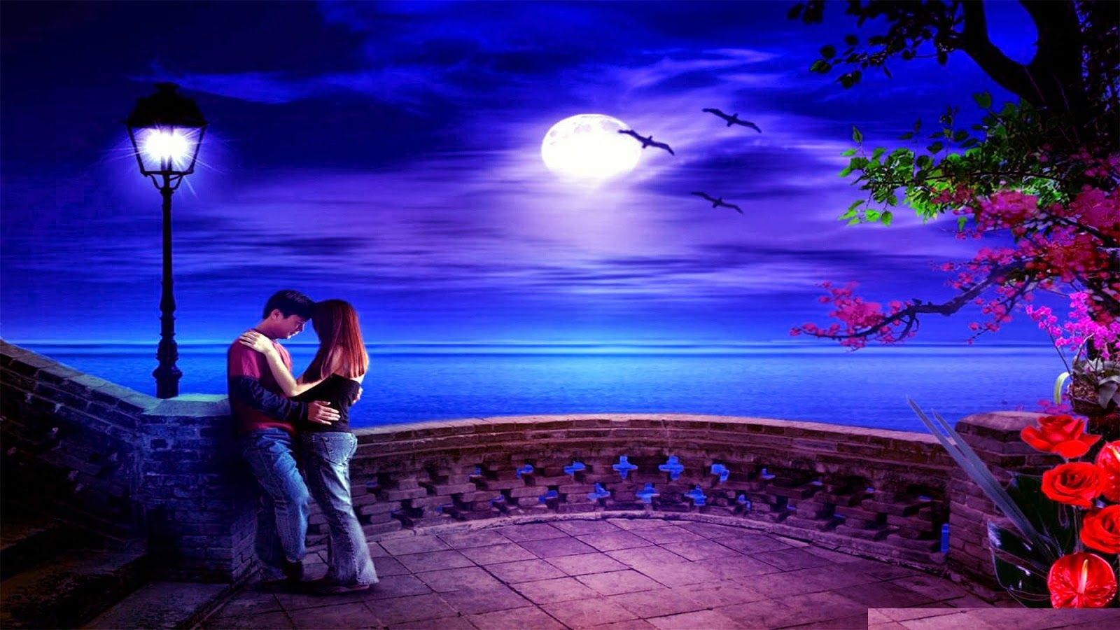 3d Wallpaper Romantic