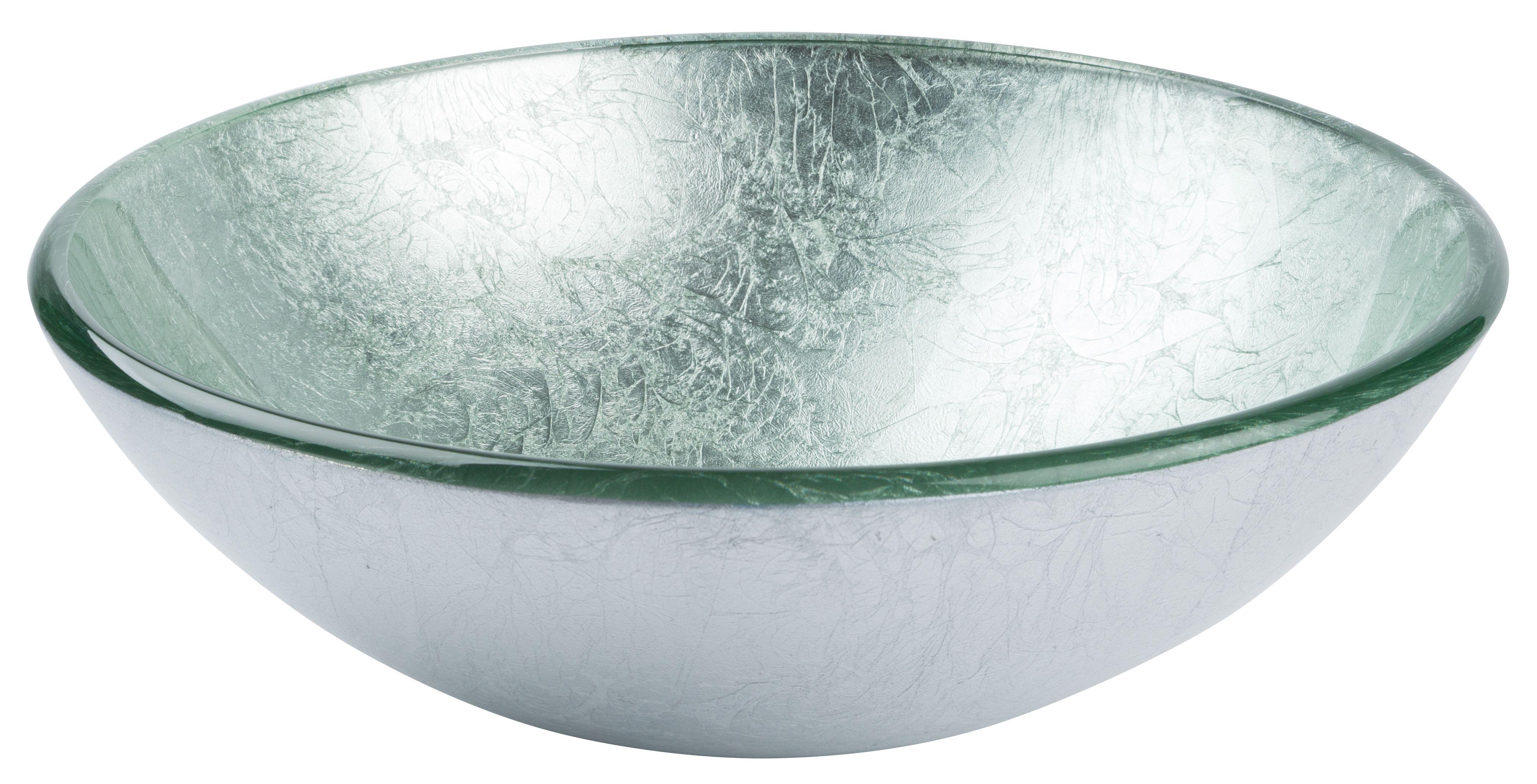 Silver Glass Vessel Basin From Www.uniquesinks.com.au