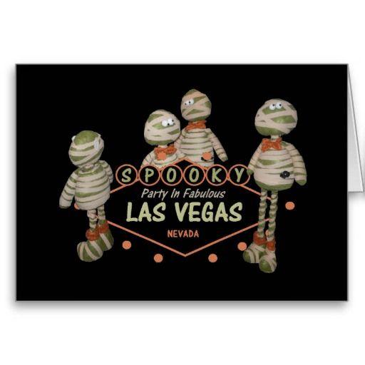 SPOOKY Party In Las Vegas Card