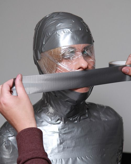 Duct tape bondage death
