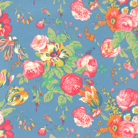 A LIBERTY TANA LAWN MAGICAL BOUQUET 100/% COTTON FABRIC