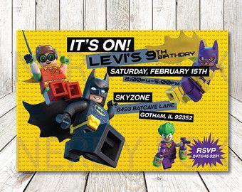 6312de95aedcc32e1ab8f4718c396174 lego batman movie cupcake toppers version2 2 inch por nerdyfox,Lego Batman Movie Invitations