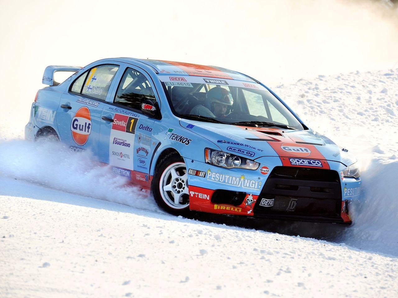 Juha Salo Marko Salminen Evo X Rally Car Evo X Sport