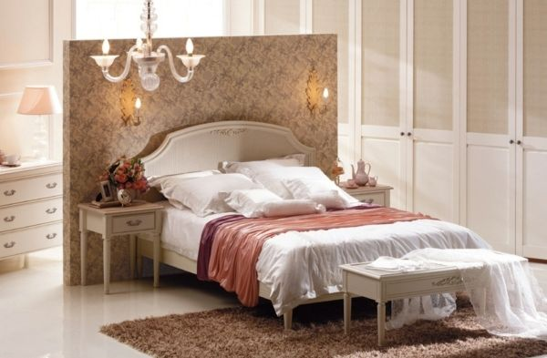 Schlafzimmer Dunkel ~ Romantisches schlafzimmer dunkel rosa tapeten schlafzimmer