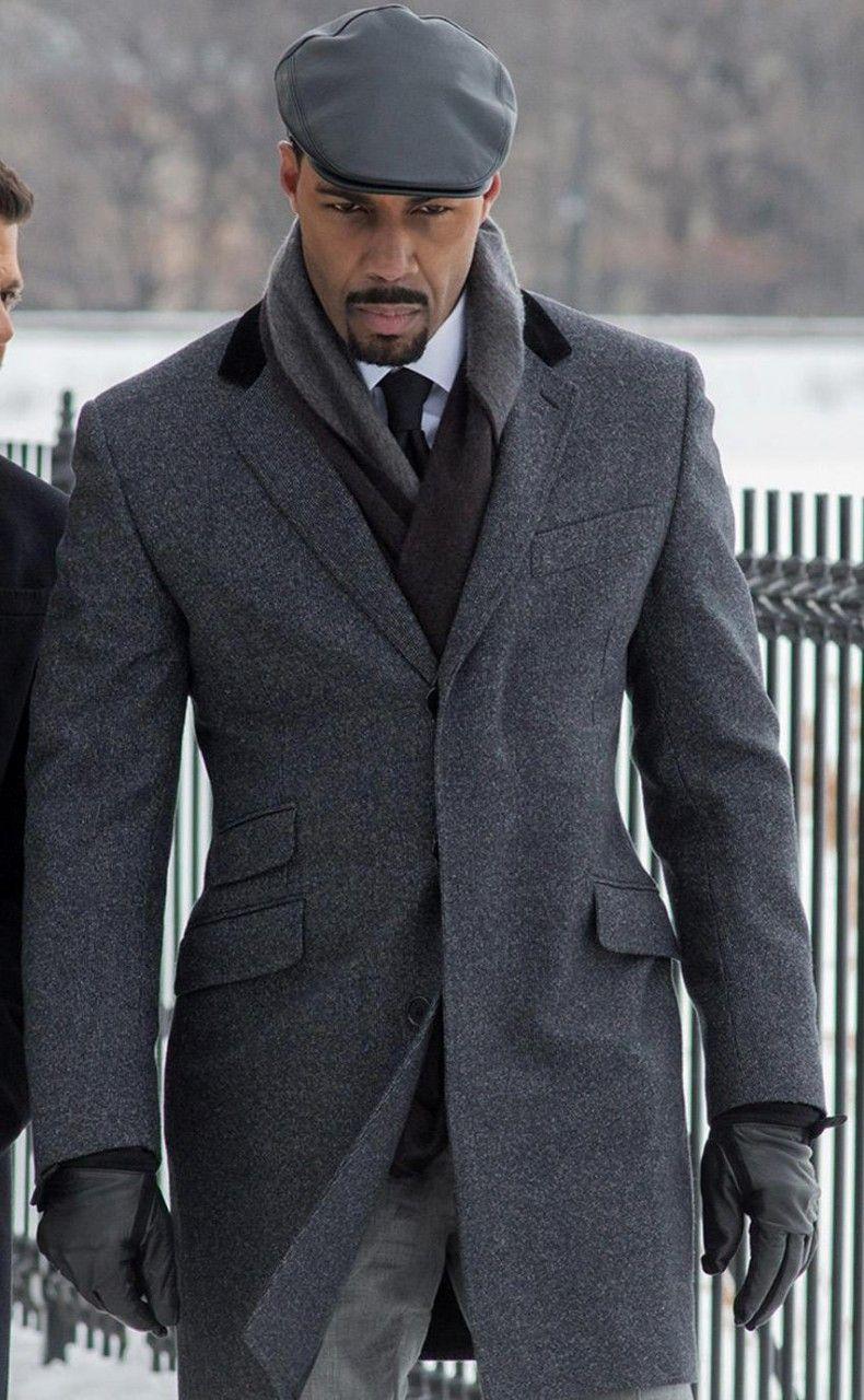 Power Grey Coat worn by Omari Hardwick | LUV Him! | Pinterest ...