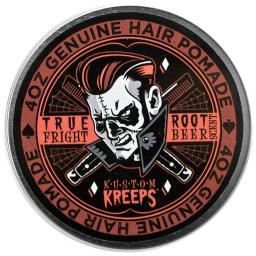 True Fright Light Hair Pomade Quiff Mens Rockabilly Tattoo
