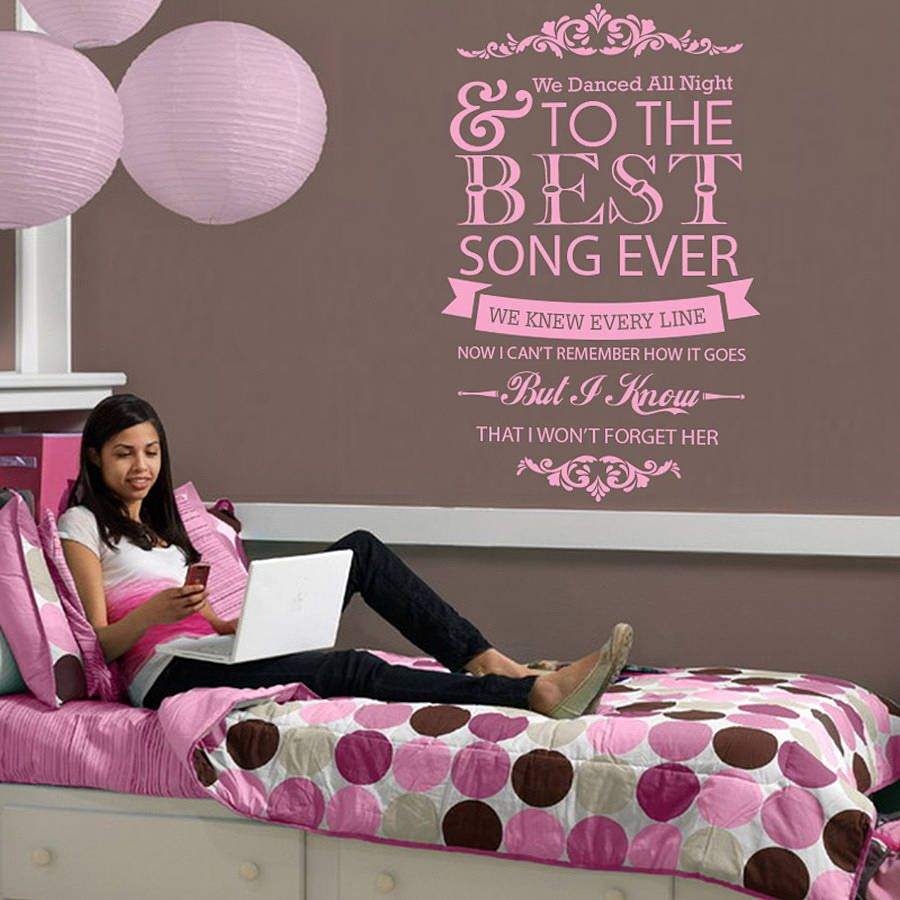 One Direction U0027Best Song Everu0027 Wall Sticker