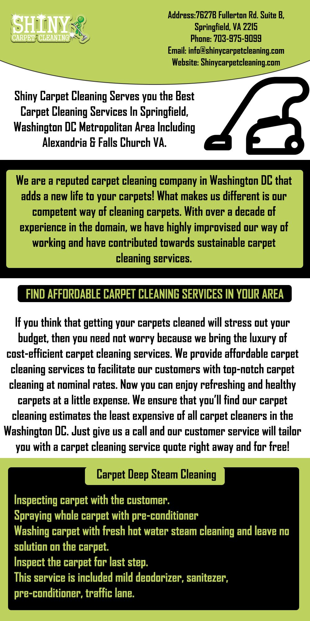 Shiny Carpet Is One Of The Best And Reliable Company In