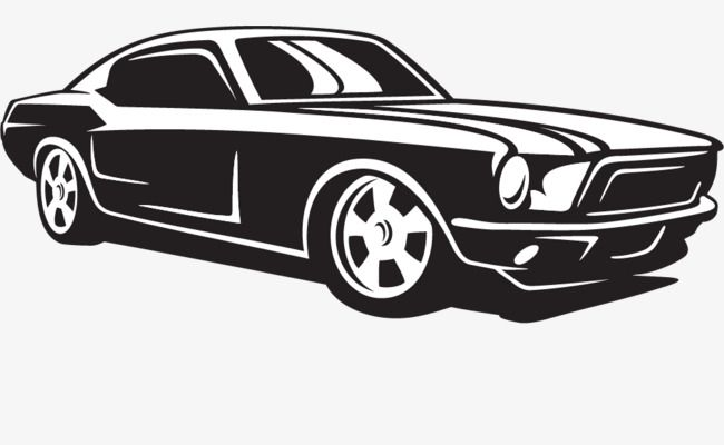 Png Car Vector Material Png And Vector Car Silhouette Car Vector Car