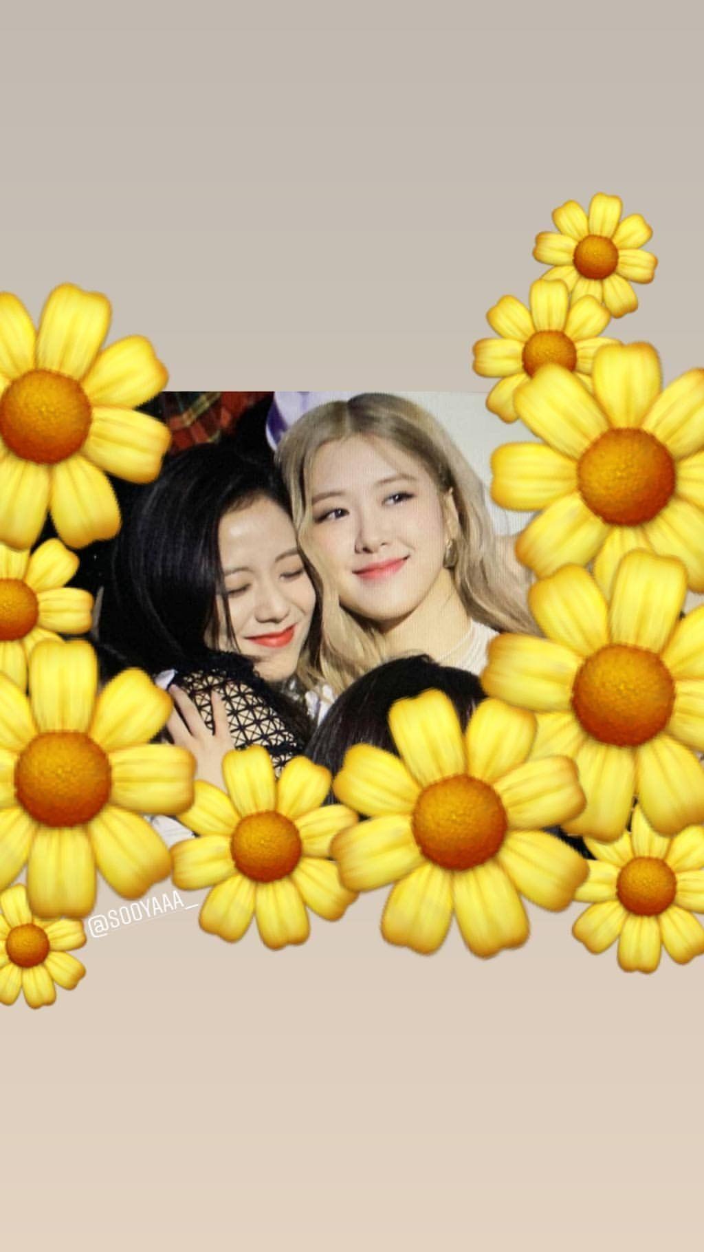 Ig 190124 Both Roses Are Rosie And Sooyaaa Blackpinkofficial Gambar Pengeditan Foto Teman