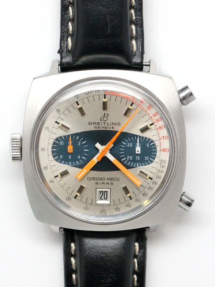 breitling chrono matic birks cal 12 circa 1970