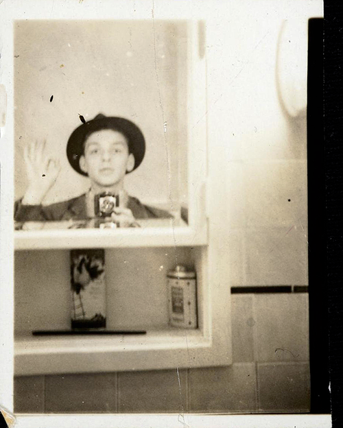 Frank Sinatra selfie