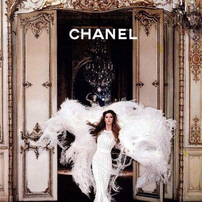 Chanel Fashion Shot - White Through The Ornate
