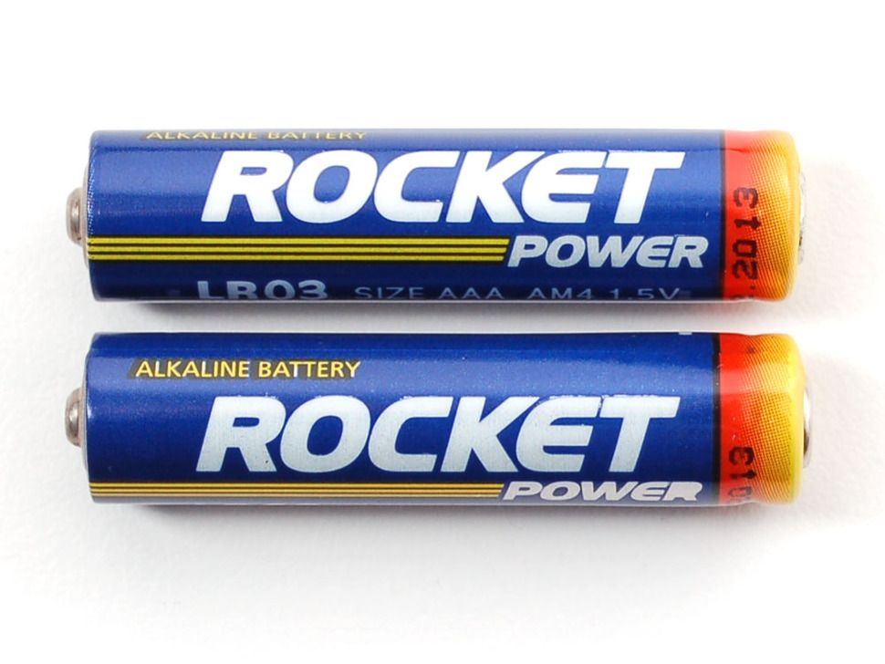 Alkaline Aaa Batteries 2 Pack Rocket Power Batteries Power