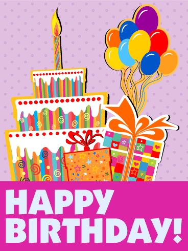 Birthday Cards For Kids Birthday Greeting Cards By Davia Free Ecards Happy Birthday Wishes Cards Happy Birthday Kids Cute Happy Birthday