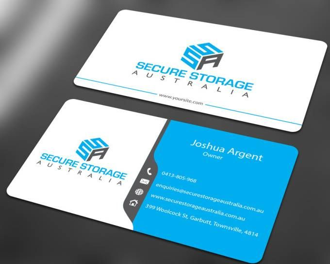 Design Professional Modern Double Sided Businesscard Design