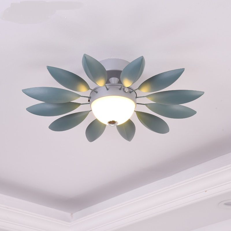 Modern Sun Flower Ceiling Lamp Living Room Color Children S Room Creative Led Ceiling Lights