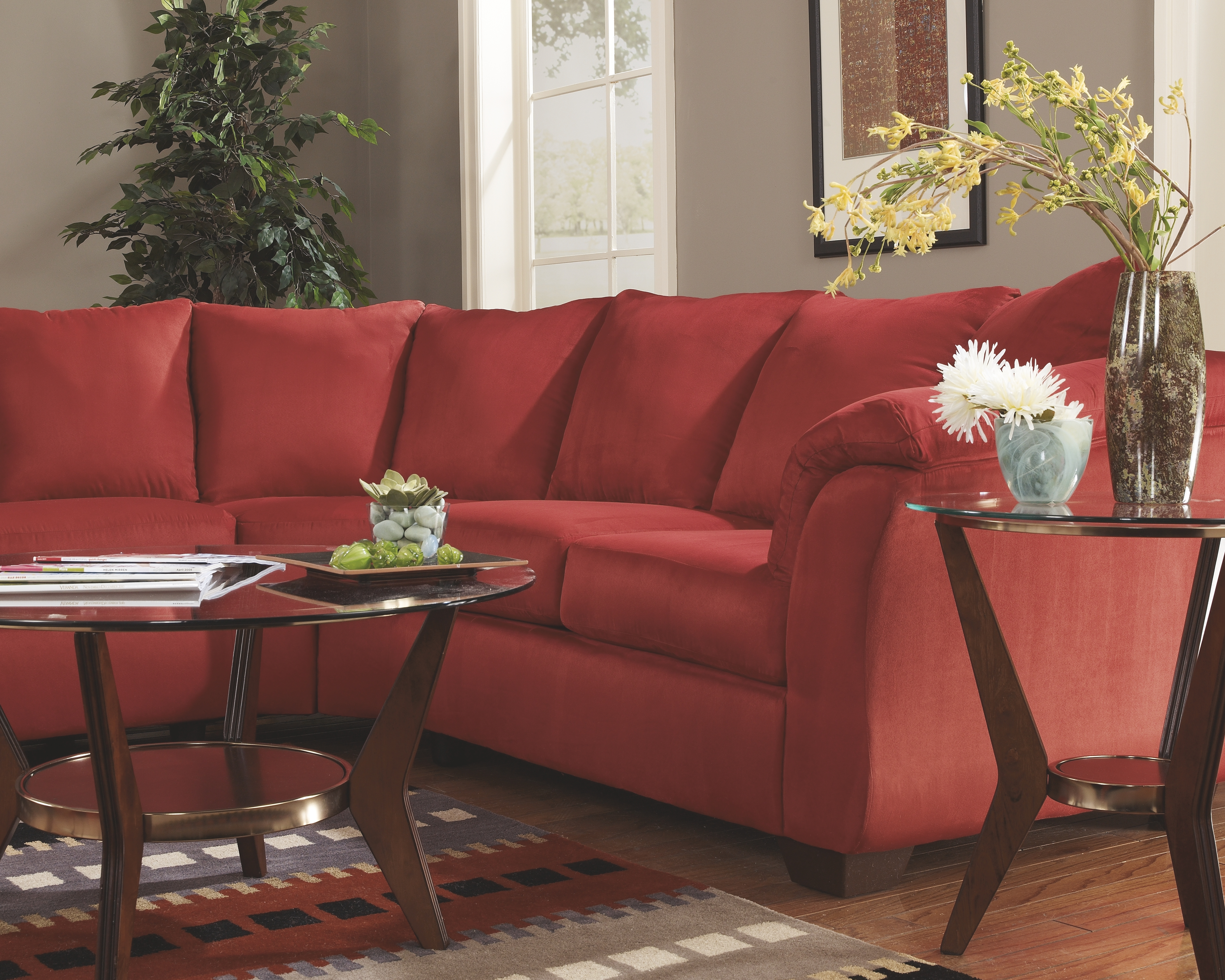 Amazing Darcy 2 Piece Sectional Salsa Products Furniture Alphanode Cool Chair Designs And Ideas Alphanodeonline
