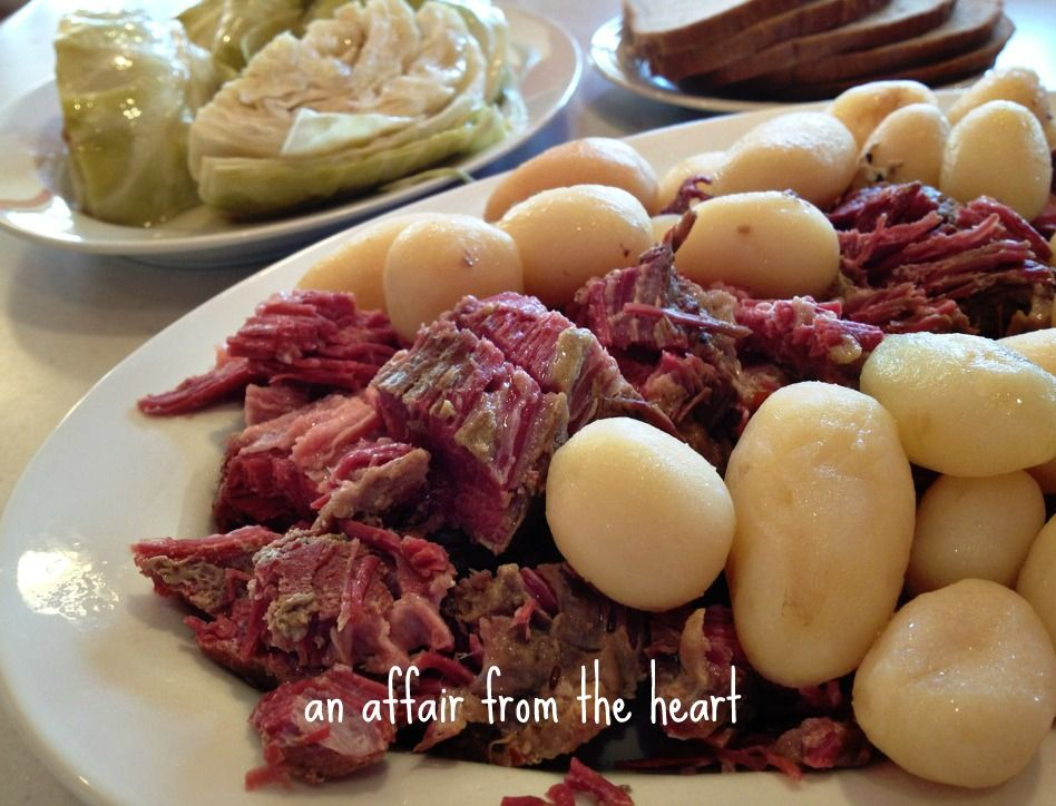 Corned Beef and Cabbage Dinner in the Crock Pot | An Affair from the Heart