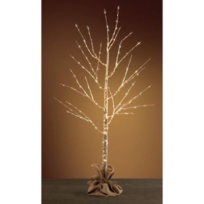 best sneakers 923f7 148ef Pre-Lit LED Birch Tree - BedBathandBeyond.com | holiday ...
