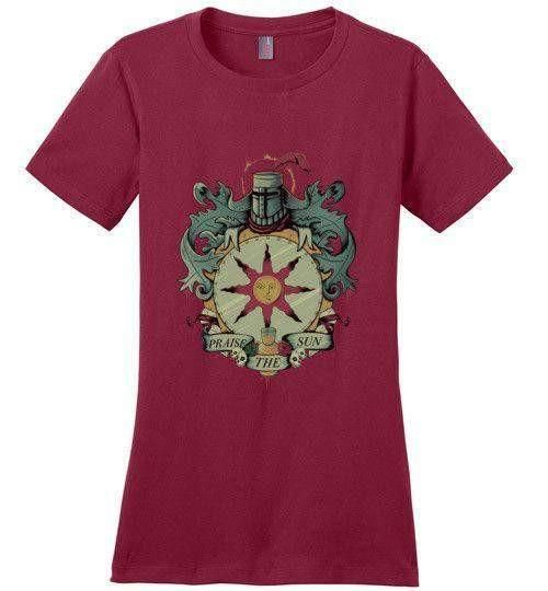 Crest Of Solaire Shirt Designs Mens Tops Canvas Shirts