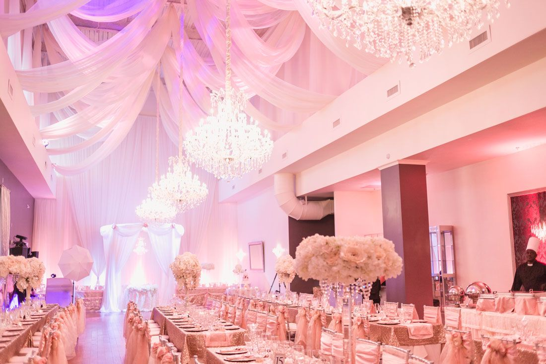 Top Orlando Wedding Photographer And Videographer Captures Blush Pink At Crystal Ballroom Veranda In Metro
