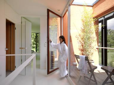Sauna designs zu hause  Haus des Jahres 2009: 1. Platz: Wellness-Luxus: eine Sauna zu ...