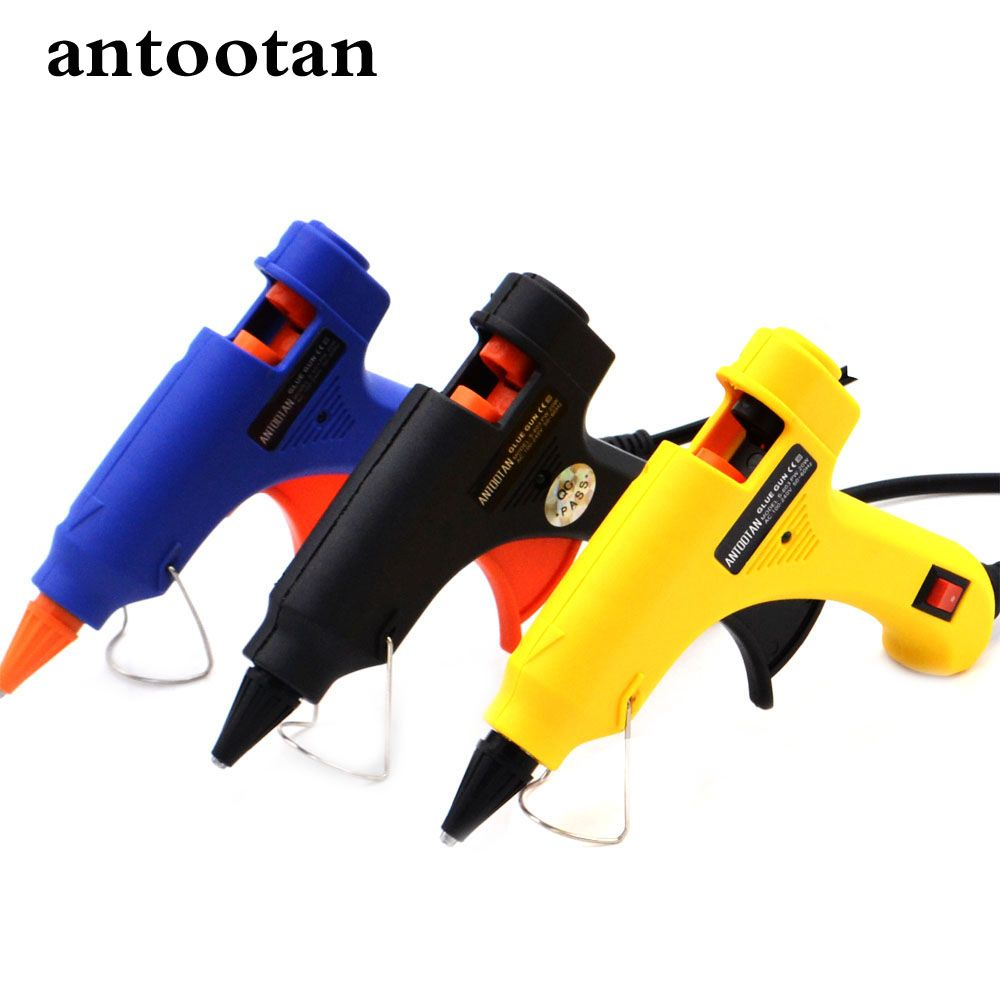 20W US/EU Plug Hot Melt Glue Gun Industrial Mini Guns Thermo