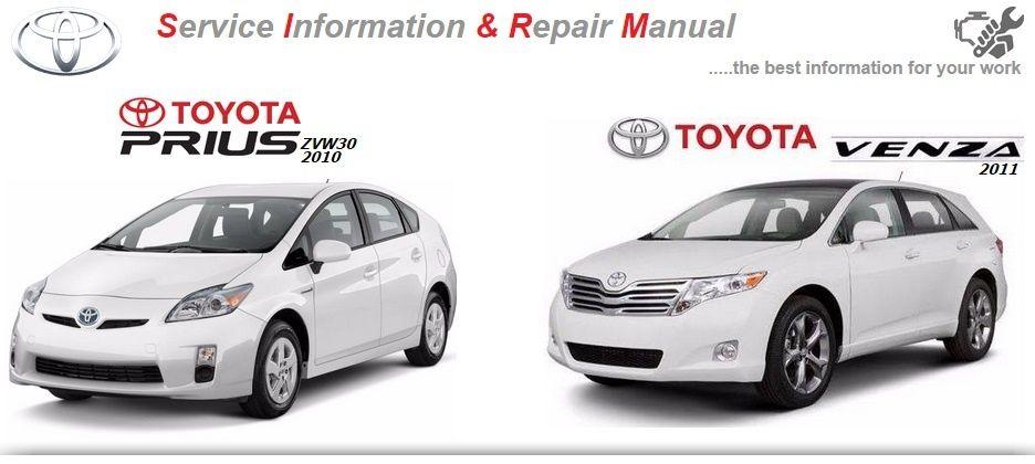 Repair Service Manual Pdf Moe Downloadshttps Sites Google Com Site Toyotarepairservicemanual Homeid 0890 Toyota Venza Repair Manuals Toyota Prius
