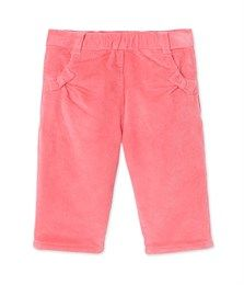 Baby girl's corduroy trousers